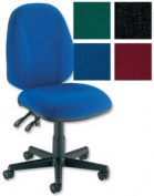 Trexus Intro Operators Chair PCB High Back H490mm Seat W490xD450xH440-560mm Blue