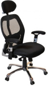Ergo-Tek Mesh Office Chair - Black