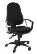 Topstar 9020AG20E Trend SY 10 Comfortable Design Swivel Chair to Intervertebral Discs - Black