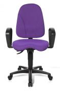 Topstar PO40B2BC7E Point 40 Office Swivel Chair - Purple