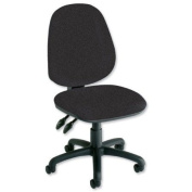 Concept High Back Deluxe Chair - Charcoal