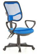 Buerostuhl24 666510 City 50 Office Swivel Chair Mesh Blue