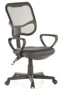 Buerostuhl24 666540 City 50 Office Swivel Chair Mesh Grey