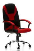 CAMARO - Office chair design sports black / red