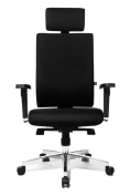 Topstar LS39WGT20E Light Star 30 Classical Comfort Swivel with Height Adjustable Armrests - Black