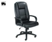 TC Keno CH0237 Leather Chair - Black
