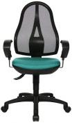 Topstar OP20UG25E Open Point SY Office Swivel Chair - Green
