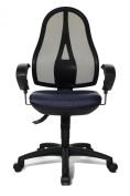 Topstar OP20UG28E Open Point SY Office Swivel Chair - Dark Blue