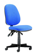 Chairs For Offices 130019BL Computer Chair Ergonomic Adjustments High Back Blue.