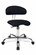 Office chair / stool sitness black 40