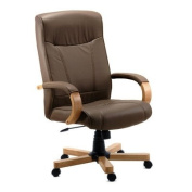 Richmond Leather Executive Chair in Brown