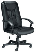 TC Casino CH0209 Leather Chair - Black