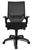 Topstar AU100AT20E Autosyncron-1 Office Swivel Chair - Black
