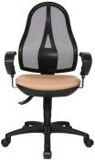 Topstar OP20UG07E Open Point SY Office Swivel Chair - Light Brown