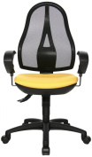 Topstar OP20UG09E Open Point SY Office Swivel Chair - Yellow