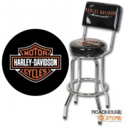 Harley-Davidson Bar & Shield Bar Stool-backrest