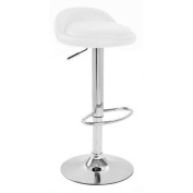 Sofia Bar Stool Colour: White