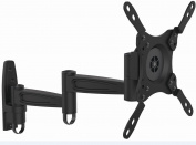 Intecbrackets - High quality strong extendable arm TV wall bracket. 17 19 20 21 22 23 26 28 30 32 34 36 flat screen TVs complete with all fittings and fixings