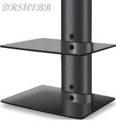DRS102BB DVD Player/Amplifier/Speaker Wall Mount Shelf for LCD/Plasma TVs