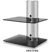 DRS102BS DVD Player/Amplifier/Speaker Wall Mount Shelves for LCD/Plasma TV