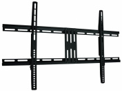 Intecbrackets® - Flat slim fitting TV Bracket fits all TVs 40 42 43 46 47 50 51 52 55 60 70 weight rated to 80 kgs complete with all fittings and a lifetime warranty