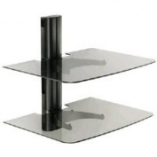 Sanus Systems VF2012-B1 Single Column Wall-Mounted Furniture Component Shelf