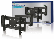 HQ Wall Bracket for 23-110cm LCD/Flat Screen TV - Black