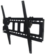 Intecbrackets® - Slimline extra strong fully adjustable 15 degree tilting TV bracket fits TV just 45mm off the wall for all 37 39 40 42 43 44 46 47 50 52 55 58 60 62 63 64 65 70 complete with all fittings and a lifetime warranty