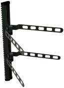 HQ 2 Level Universal Stereo Shelf Unit for Set Top Box/DVD/PS3/XBox - Black