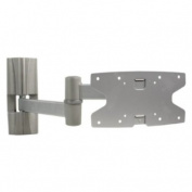 Konig 3 Way Rotatable and Tiltable Wall Mount for 20-110cm LCD/Plasma TV - Silver