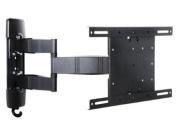 Multibrackets Vesa Flexarm Tilt and Turn 111 Wallmount for 26-110cm Screen - Black