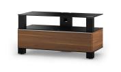 Sonorous MD 9095-B-BLK-WNT 110cm Mood Walnut TV Rack - Black