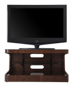 AVF Winchester Walnut TV Stand for up to 90cm