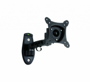 B-Tech BTV113 VENTRY - Flat Screen Wall Mount with Single Arm - Small in Black