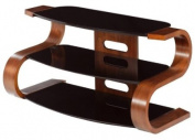 Curved Wooden Walnut Veneer LCD/Plasma TV Stand, JF203-850 [JF203-850]