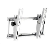 Ex-Pro High Quality Pro Silver Tiltable (15 Degree) wall bracket for medium size LCD screens. Suitable for LCD screens between 22 and 90cm .