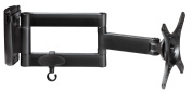 My Wall H7-3L Wall Mount for Flatscreen VESA Monitor 25.4 cm (10 Inch) - 61 cm (24 Inch) / Capacity 15 kg Distance from Wall 55 - 335 mm Black