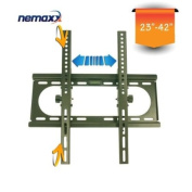 Nemaxx SK06 Wall Mount Bracket for LCD LED and Plasma TVs - 23'-42' - Black