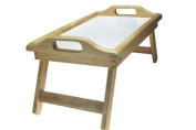 Apollo Rubber Wood Bed Tray with Folding Legs