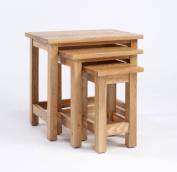 Lansdown Oak Nest of Tables