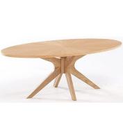 LPD Furniture Malmo Coffee Table, In Oak