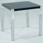 LPD Furniture Novello Lamp Table, In Black