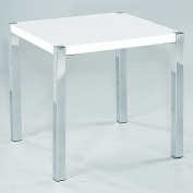 LPD Furniture Novello Lamp Table, In White