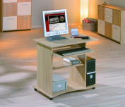 Links Durini 19300030 Desk Sonoma Oak 80 x 75 x 50 cm