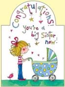 Best New Big Sister Card Designed by Rachel Ellen