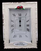 Clocks - 40th Anniversary Ruby Wedding Celebration Quartz Table Clock