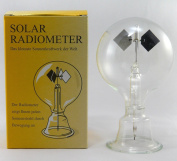 Solar Radiometer Crookes Lightmill Clear Sphere All Glass