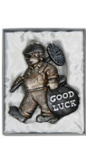 Lucky Chimney Sweep Wedding Keepsakes Good Luck Gift in Charcoal Colour