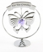 Crystocraft - For You Grandma Strass. Crystal Butterfly Design SP259