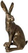'Howard Hare' - Bronze Hare Sculpture by Paul Jenkins - Frith